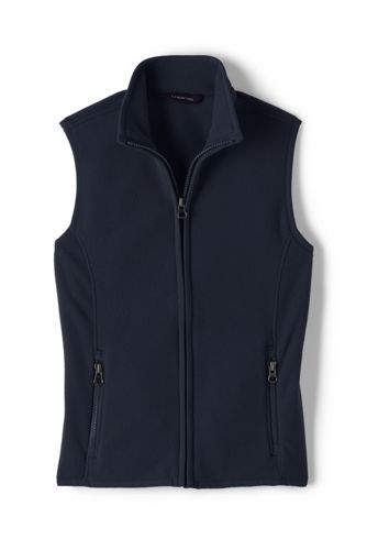 Girls+Fleece+Vest+from+Lands'+End Color-Black  Size S (7-8) or M  $11.99 for School and Grooming Therapy