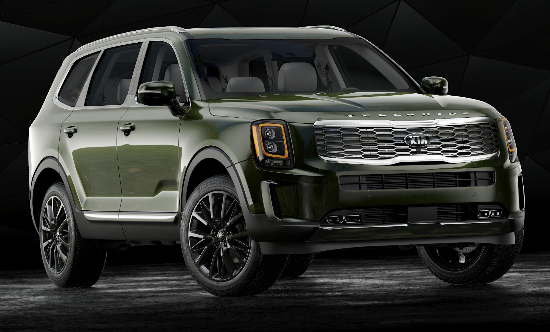 3d 2020 Kia Telluride Kia Telluride Suv Trucks