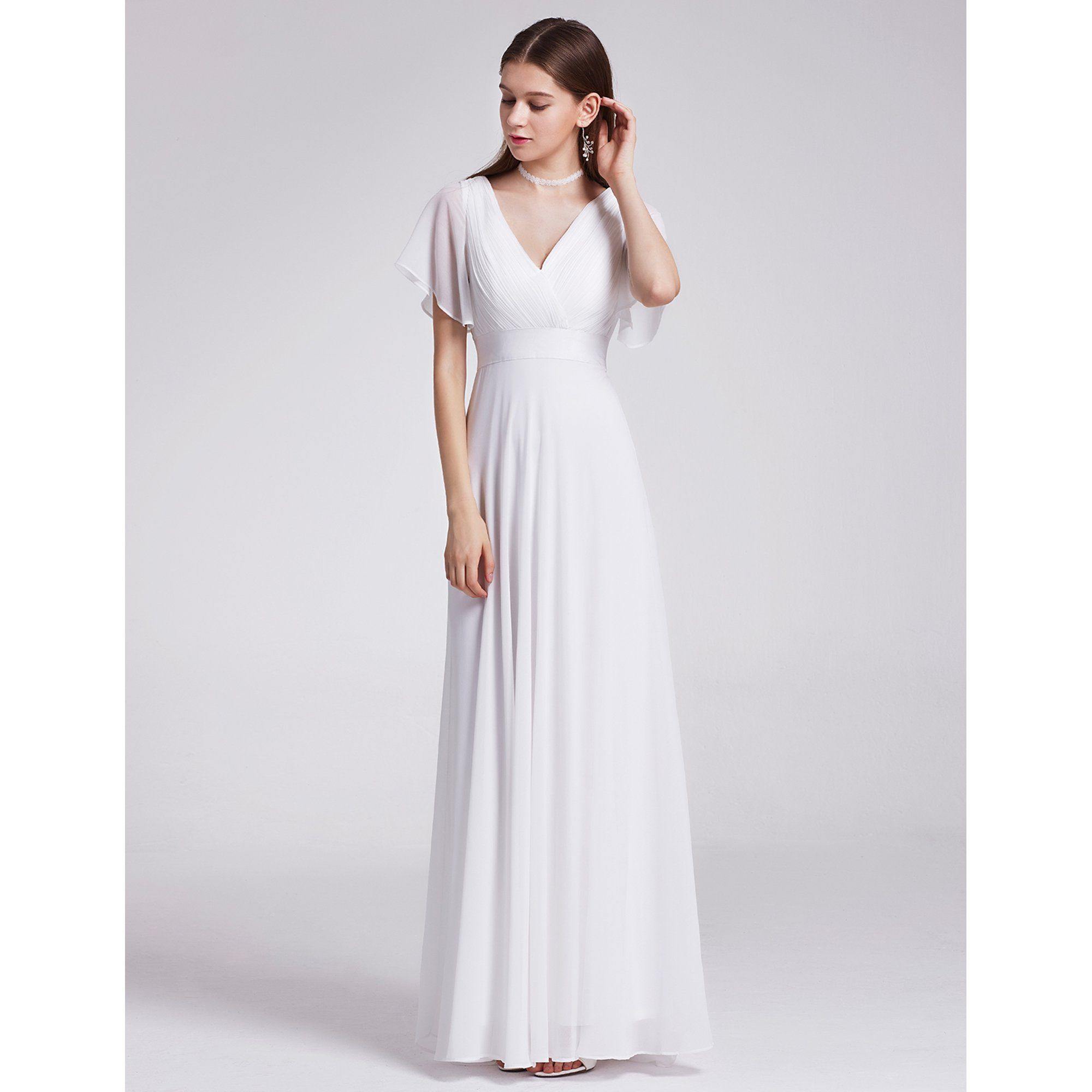 Ever Pretty Ever Pretty Womens Plus Size Formal Evening Dresses For Women 09890 White Us18 Walmart Com In 2021 Empire Waist Evening Dress Beautiful Evening Dresses Evening Gowns Formal [ 2000 x 2000 Pixel ]