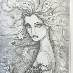 bohemian fantasy a grayscale coloring book