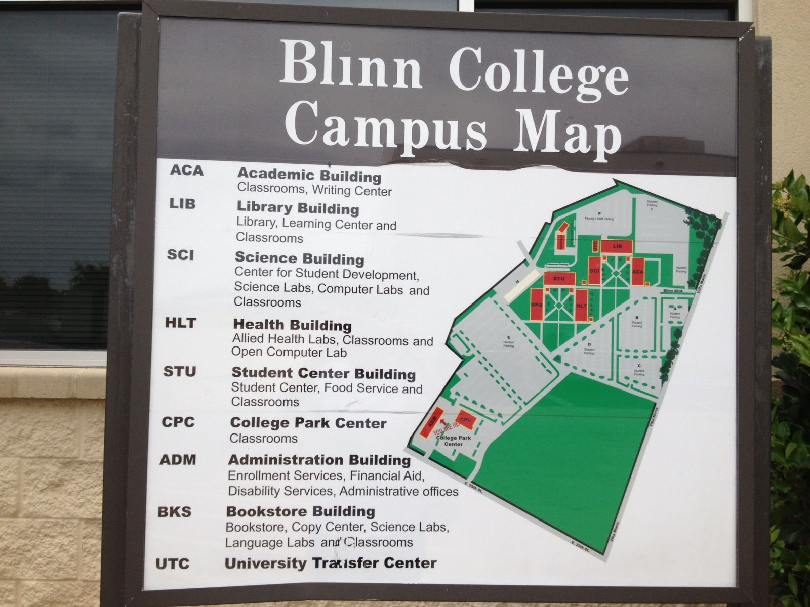 Blinn Bryan Campus Map 21 College Visits in 21 Days | Facebook | College visit, College