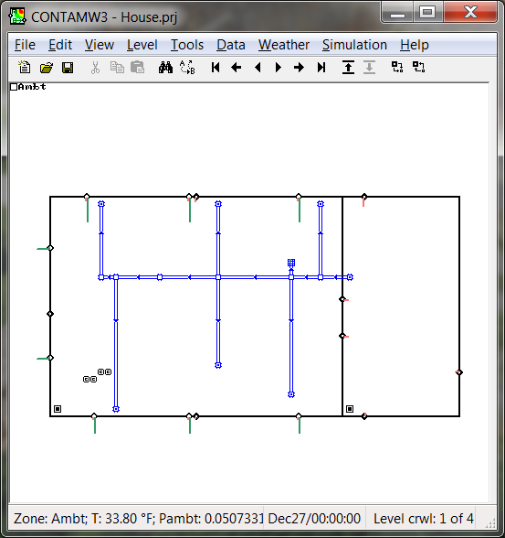 Attractive CONTAM   Very Detailed Software For Making Multizone Calculations, For  Example Natural Ventilation. The