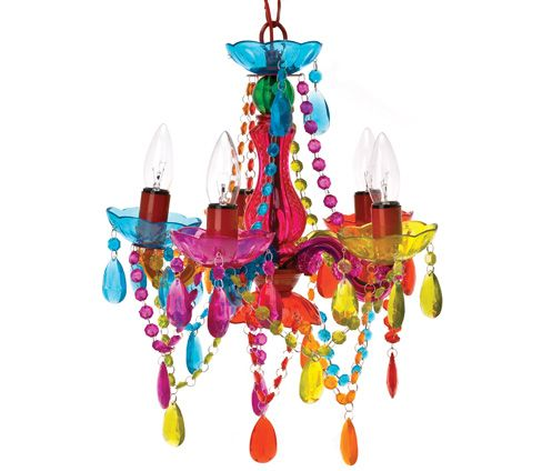 Hahaha, my kind of chandelier!!   :D