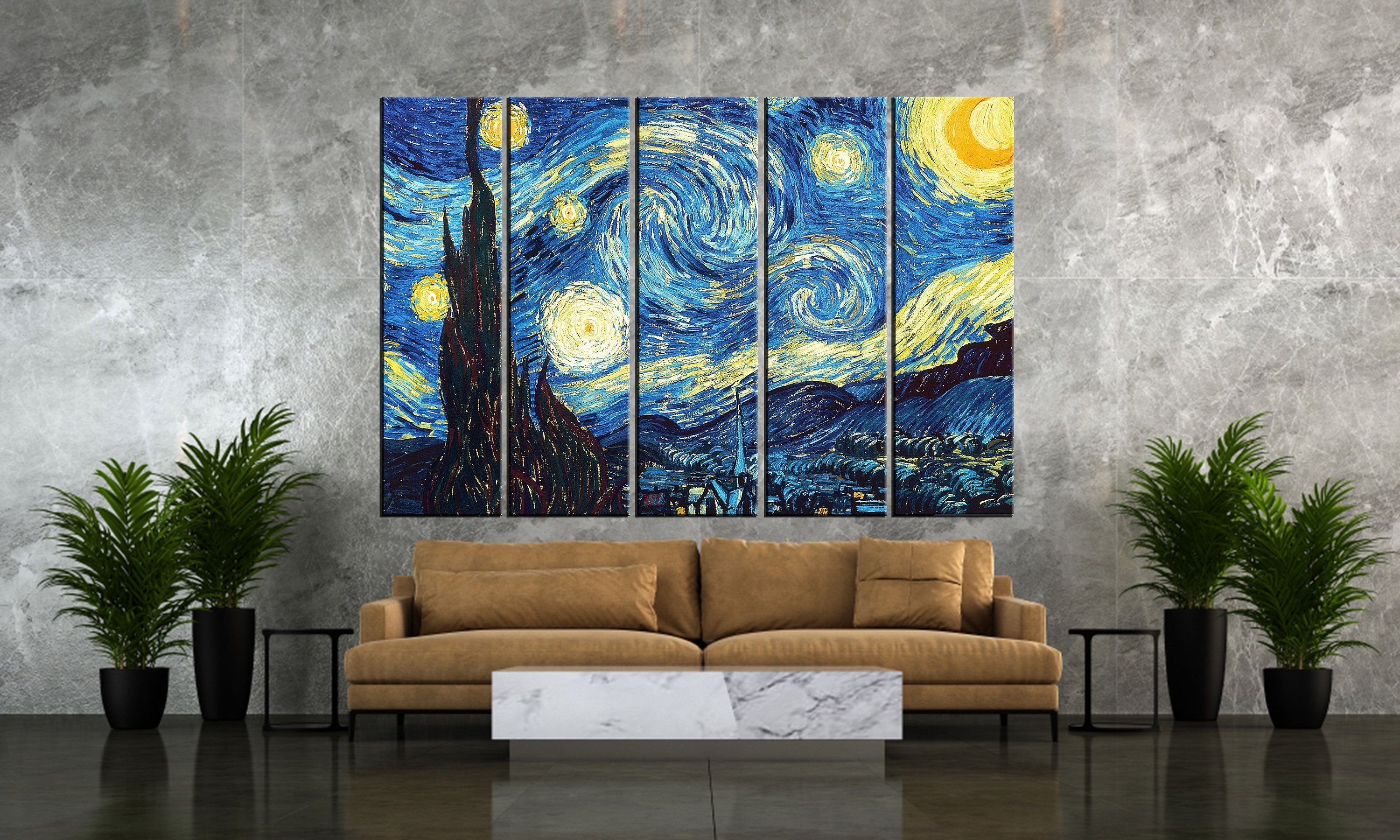 Set Of 5 Wall Art Canvas Wall Art Canvas Single Panel Etsy Canvas Wall Art Wall Canvas Handmade Wall Art