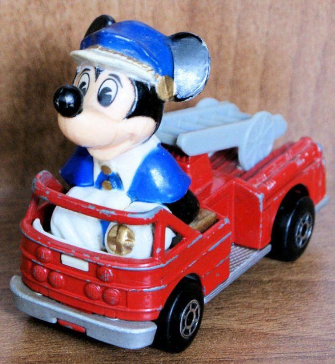 Firefighter Mickey