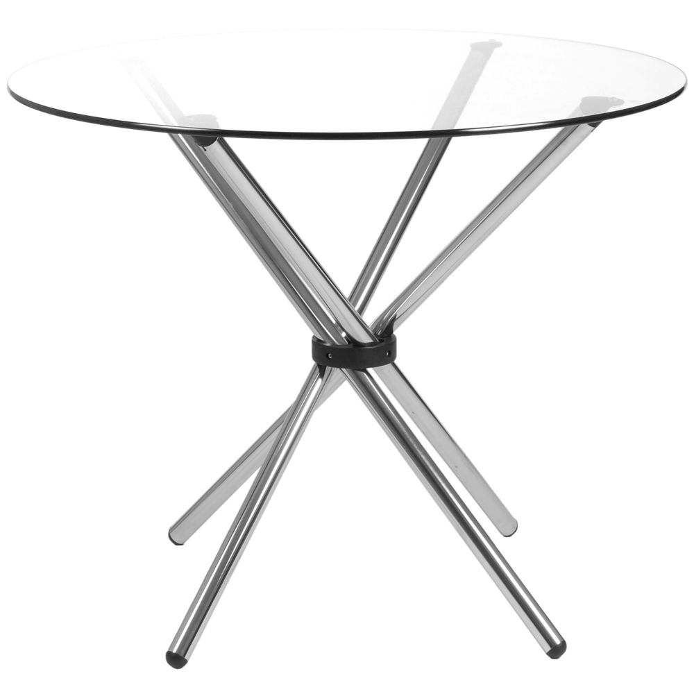 Hydra Glass Round Dining Table