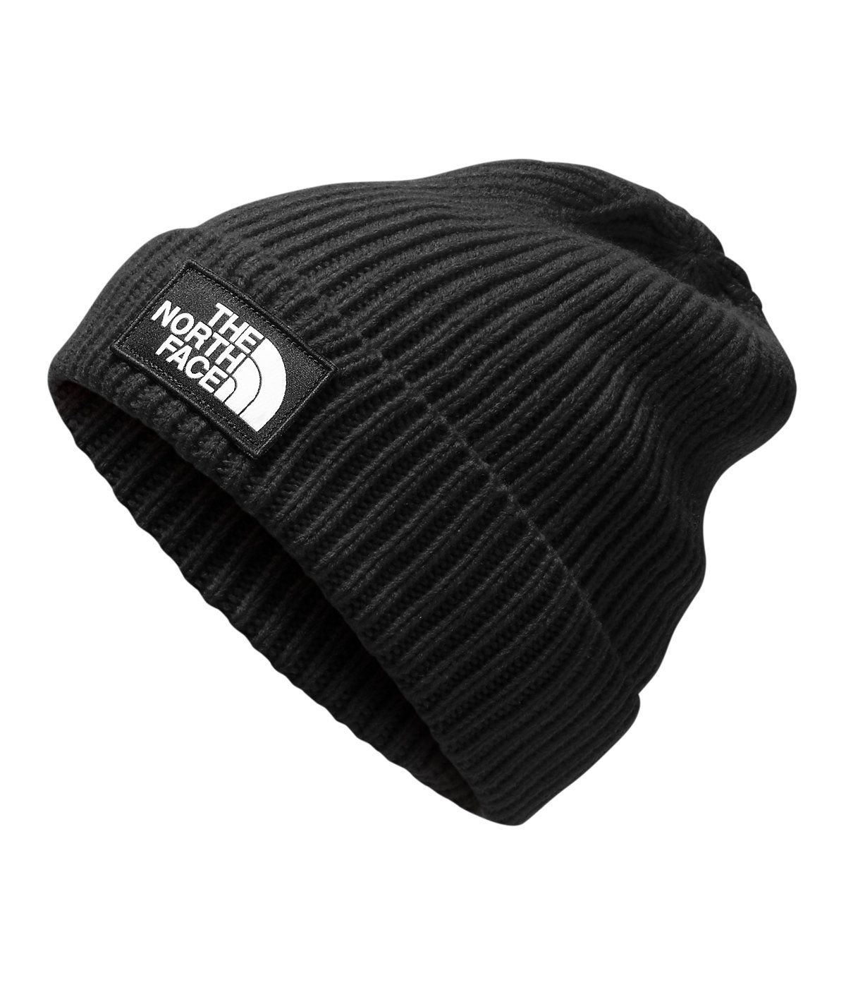 d57b20455 The North Face Men's TNF Logo Box Cuffed Beanie Hat in 2019 ...