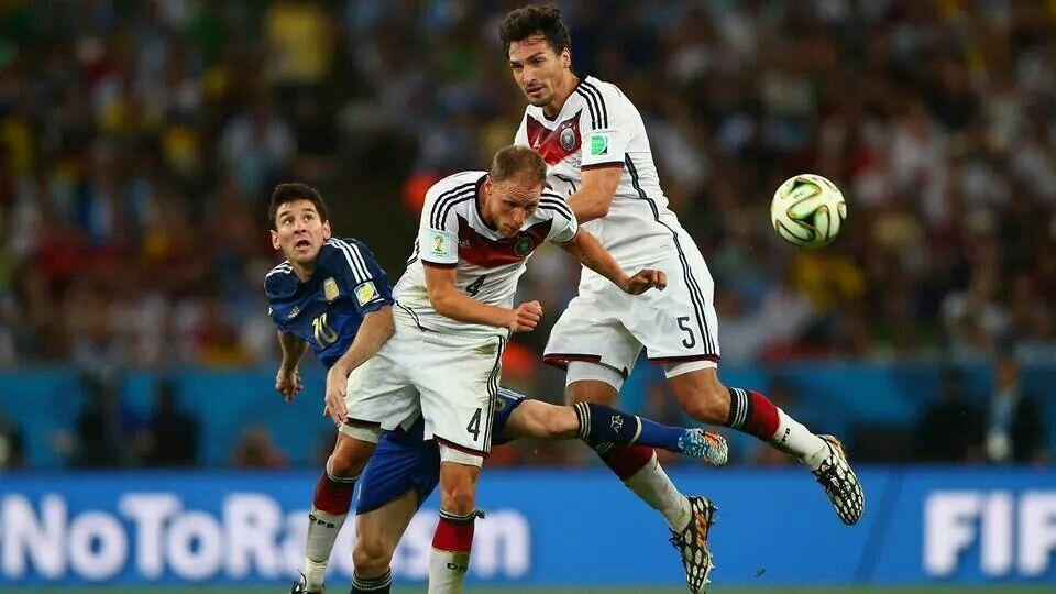 Finale: Duitsland - Argentinië 1-0