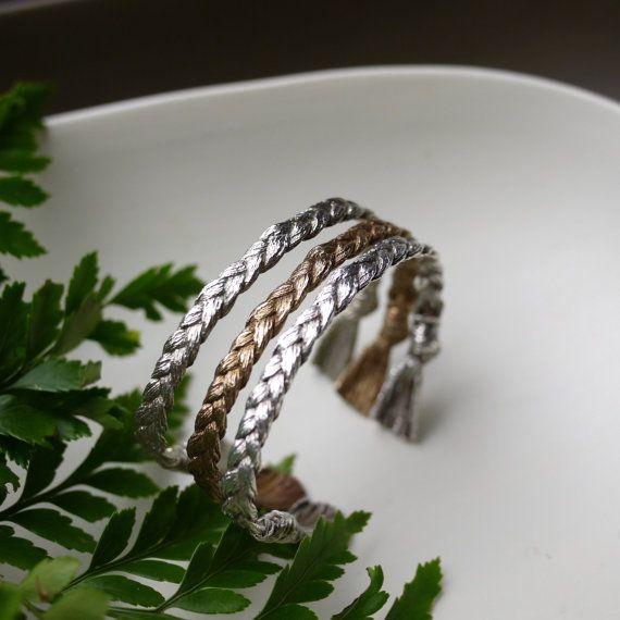 V-Day SALE Woven Bracelet Rope Cuff Braided Cuff by everlijewelry
