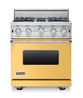 30 W Open Burner Gas Range Vgic In 12 Exclusive Finishes Viking Range Llc Convection Range Gas Range Convection