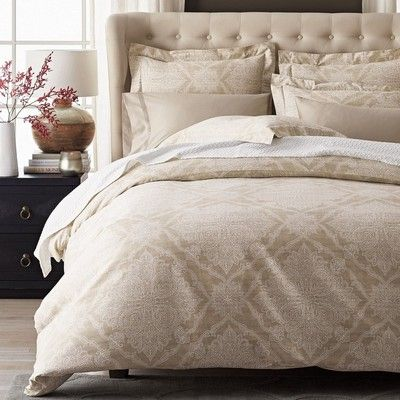Sumptuously Soft 600 Thread Count Duvet Cover Crafted Of Luxurious Egyptian Cotton Sateen Lavish Damask Medalli Duvet Covers Egyptian Cotton Duvet Cover Duvet