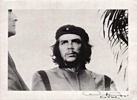 "Fidel Castro /& Ernesto /""Che/"" Guevara Autographs Photograph Cuba Repro Signatures"