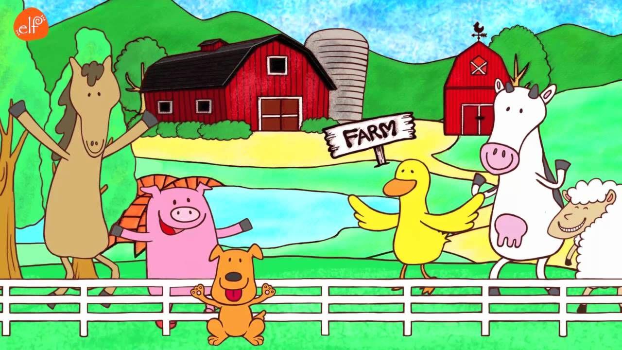 Fun Farm Animals Song! (Walk Around the Farm). A song to