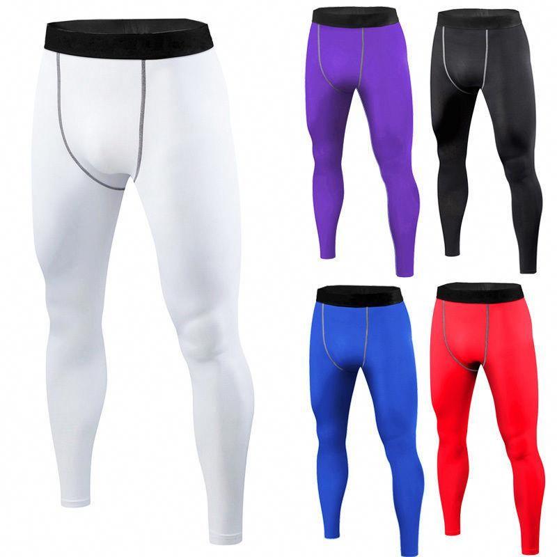 Men Football Basketball Under Compression Shorts Long Pants Base Layers  Tights♡  basketballcompressionpants 78defd4a650