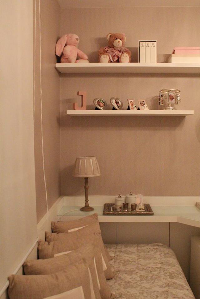 Quarto de bebê menina decorado com ursinhos e cor rosa  ~ Quarto Rosa Para Bebe