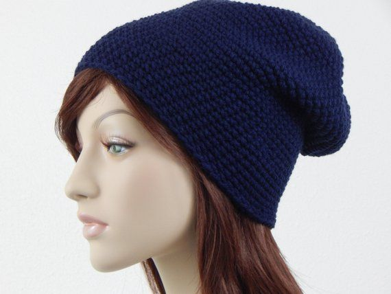 05700229f8e Navy Blue Slouch Hat