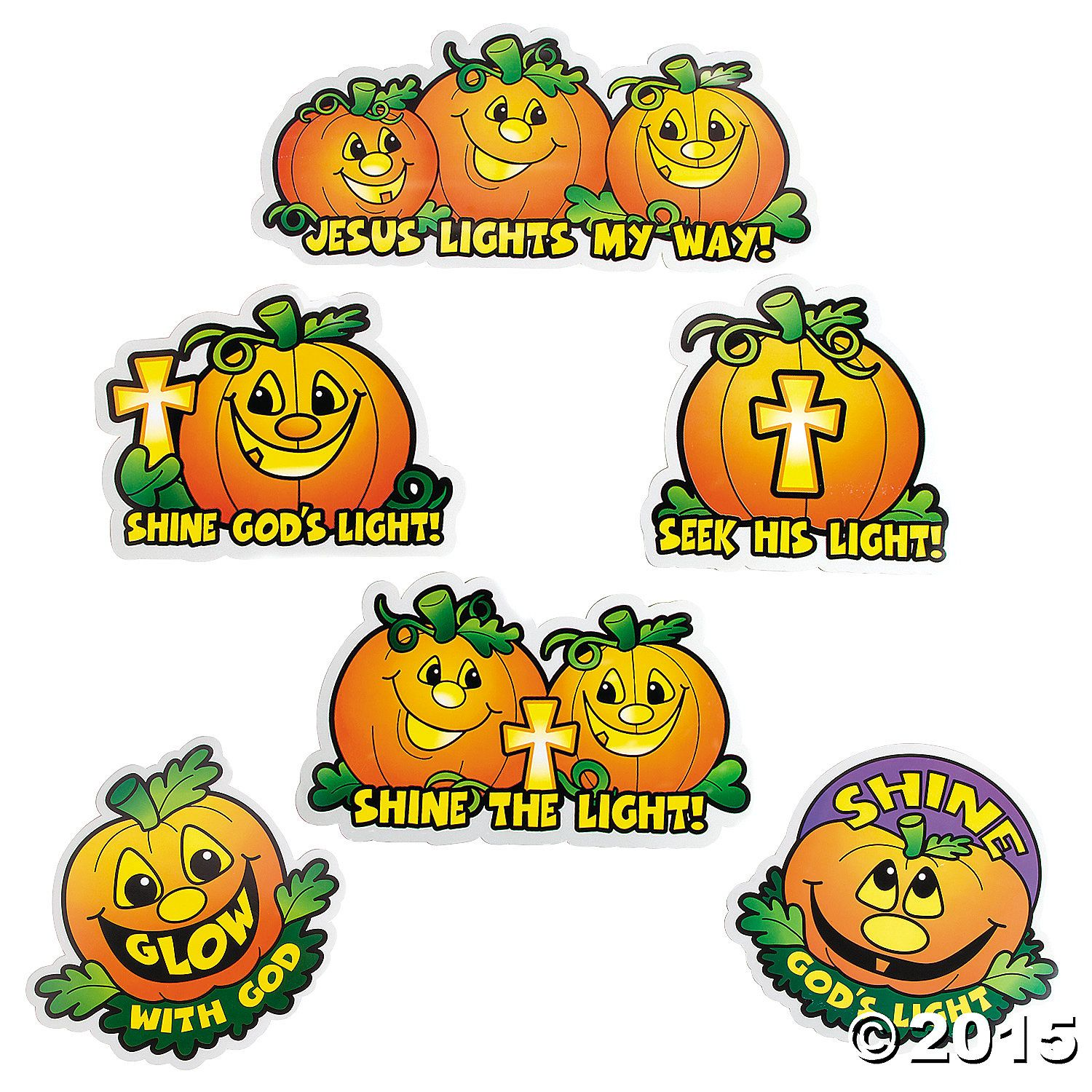 Christian Pumpkin Cutouts