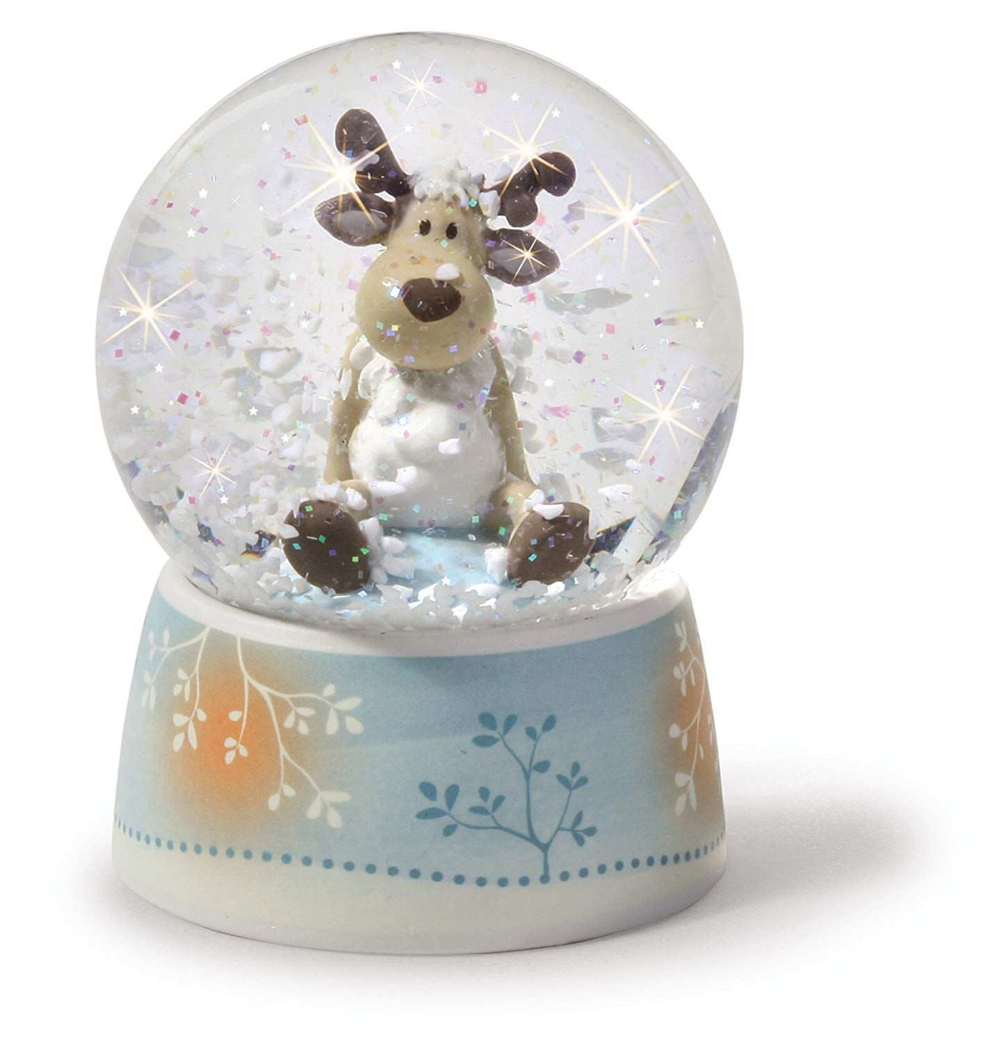check out lowest price reputable site NICI Reindeer Glitter Globe: Amazon.co.uk: Toys & Games ...