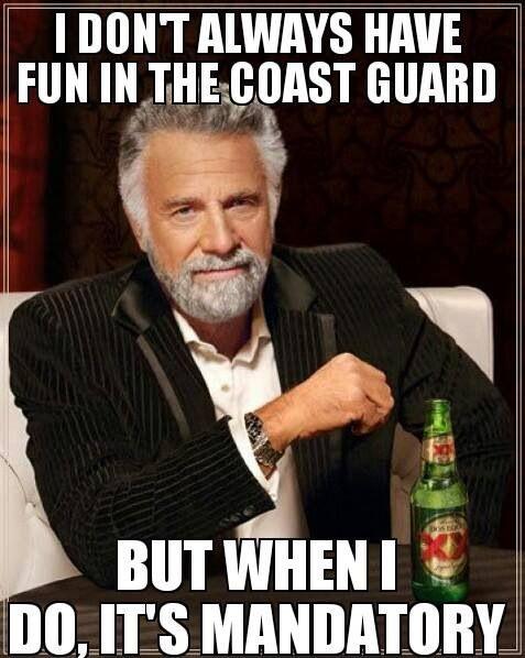 Is the coast guard fun
