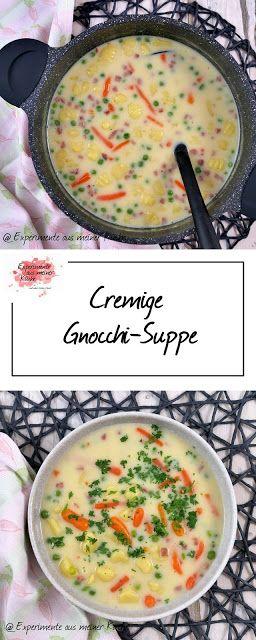 Cremige Gnocchi-Suppe #fallrecipesdinner