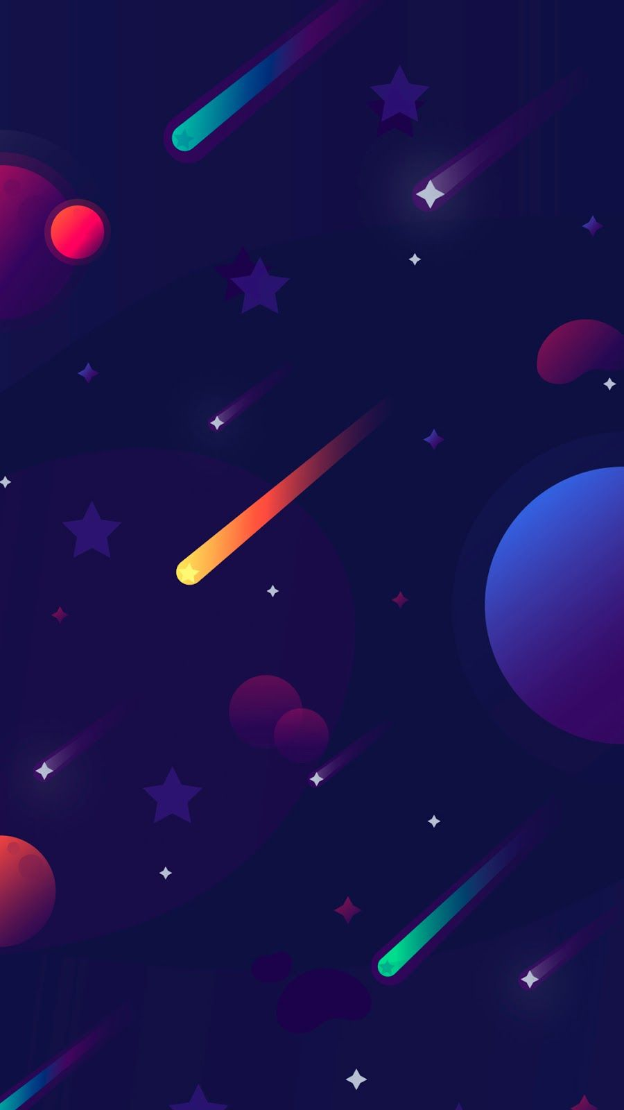 Minimal Space Phone Wallpapers Em 2020