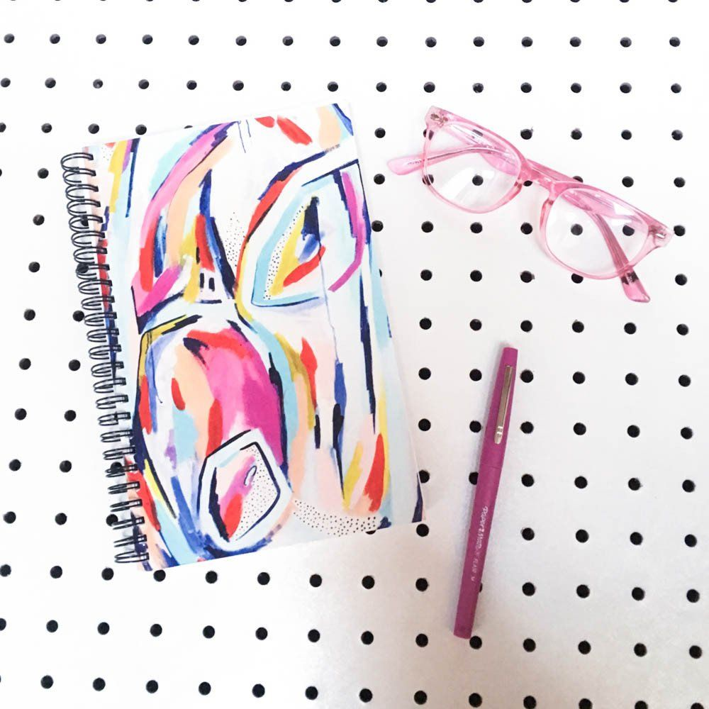 Make Your Mark Journal with Blank (no lined) Pages // Designed by StudiOH, Shoppe!