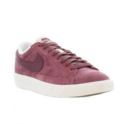 timeless design 555db 902e1 ... Nike - Blazer Low - Pink Smoke Cherrywood Red - Womens  www.mydentaltourism.com ...