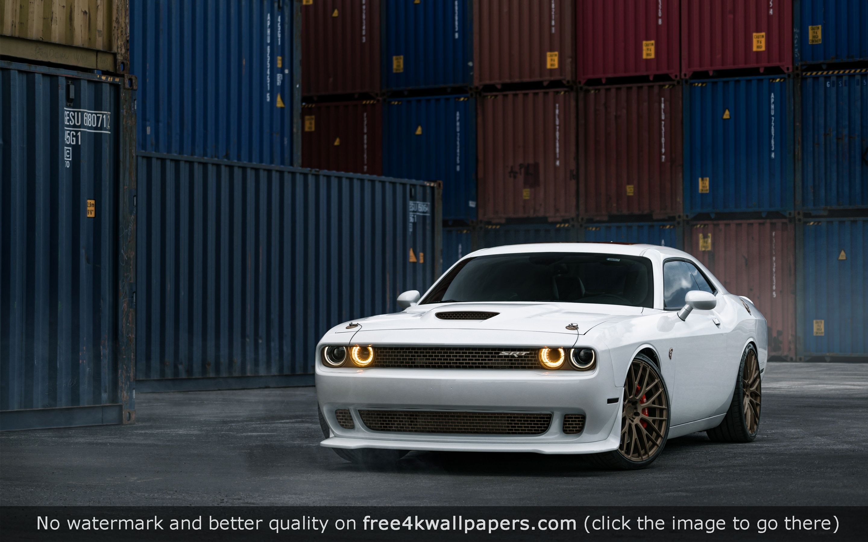 Dodge Challenger Srt Hellcat Hd Wallpaper Desktop Wallpapers