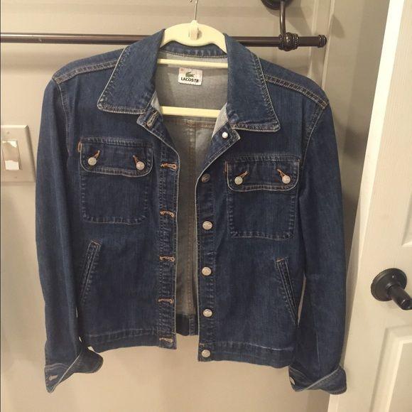 Lacoste Size Jackets Denim 38 Jacket dBerxoC