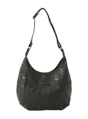 Loungefly Embossed Skull Bag