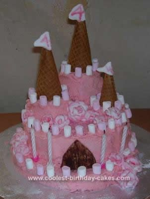 Homemade Princess Rose Palace Gluten Free Cake This Website Is The Pinterest Of Ideas