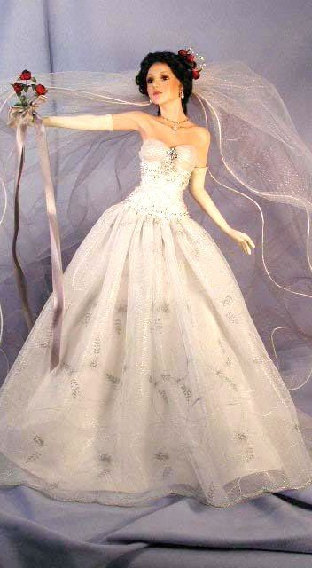 Cindy McClure Bride Dolls #bridedolls Cindy McClure Bride Dolls #bridedolls