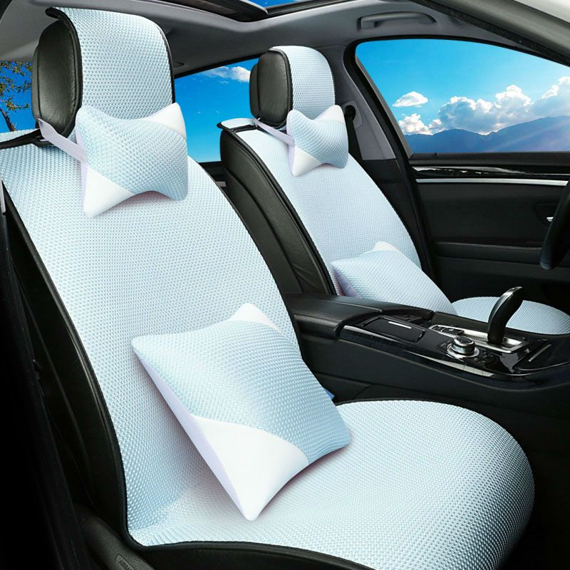 Automobile Summer Cool Car Seat Cushion Covers For Skoda Octavia