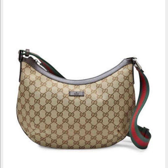 414760c94683 Auth Gucci Crossbody Beautiful EUC crossbody messenger bag ...
