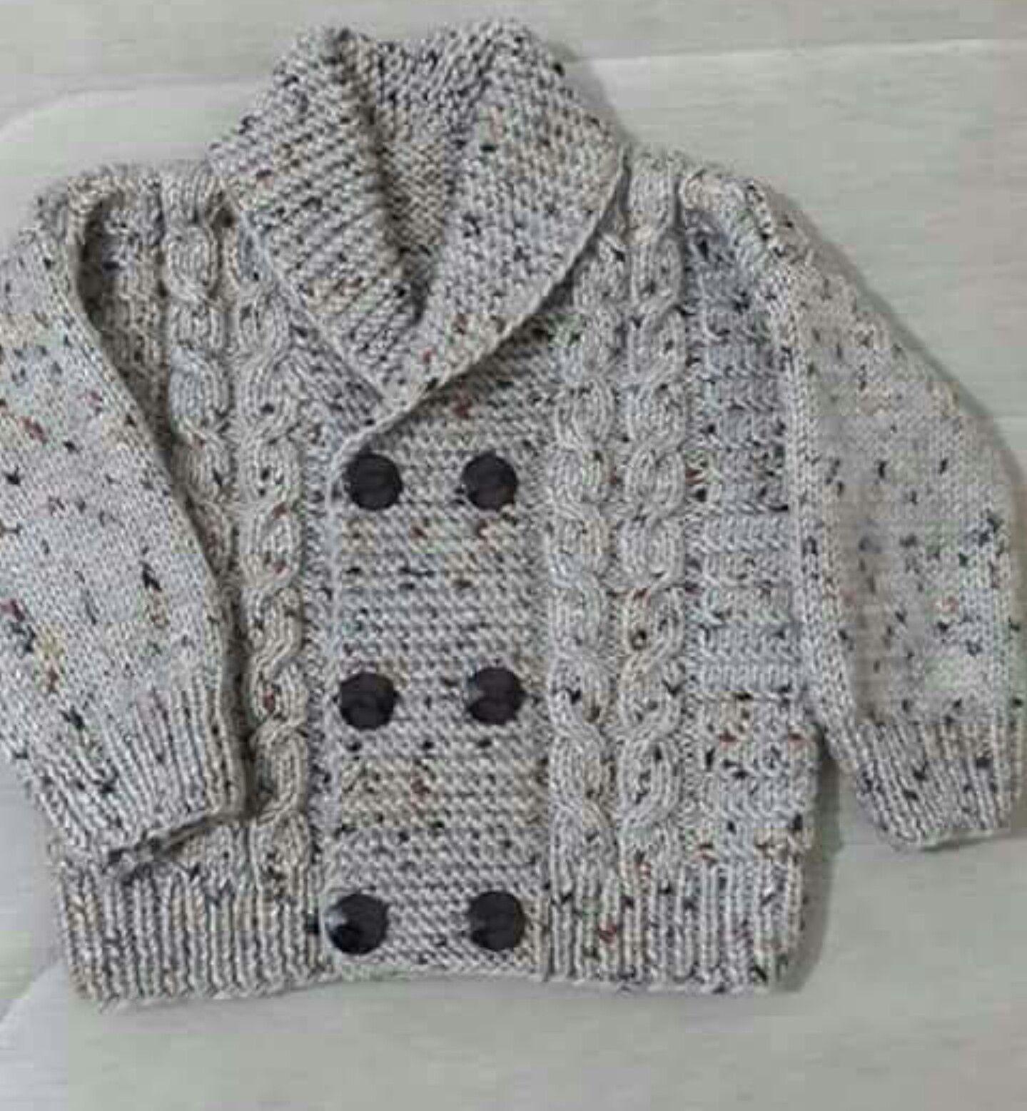 Pin de Sonia R. Steciuk Monzón en Suéteres de punto de bebé ...