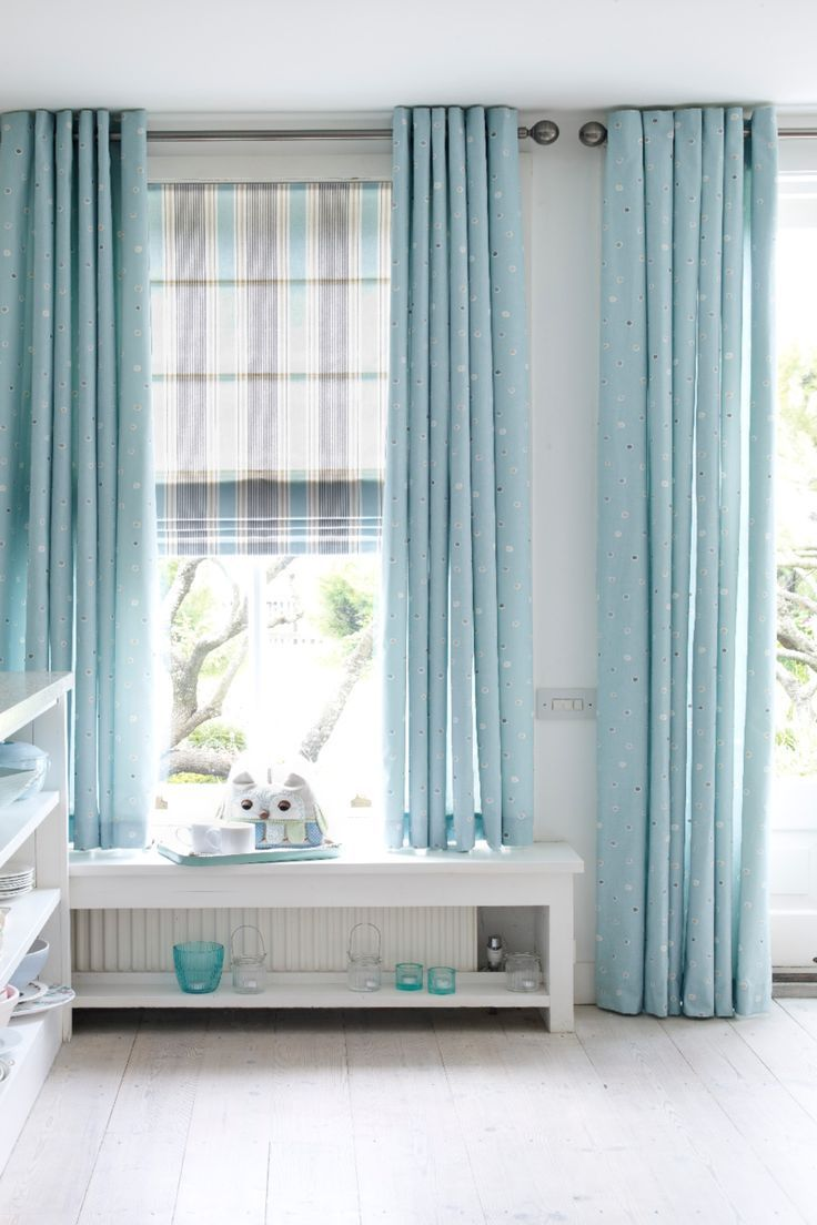 Layer Stripes And Plains To Create A Lovely Contrasting Look Add Bright Colour Into White
