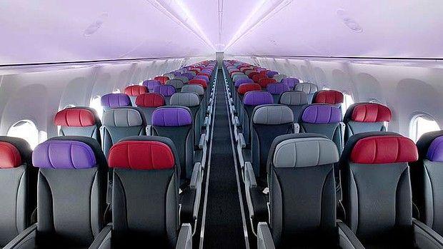 Economy Class On A Virgin Australia 737 800 The Fiji Flight Is More Like A Domestic Service Than An International One Aircraft Interiors Fiji Seating