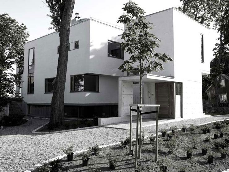 Villa Dammansvei. Bygdøy, 2007. Hille Strandskogen Arkitekter.