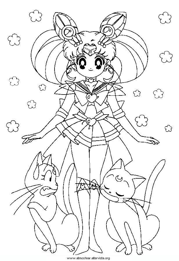 Disegni Da Colorare Sailormoon Coloring Book Sailor Moon