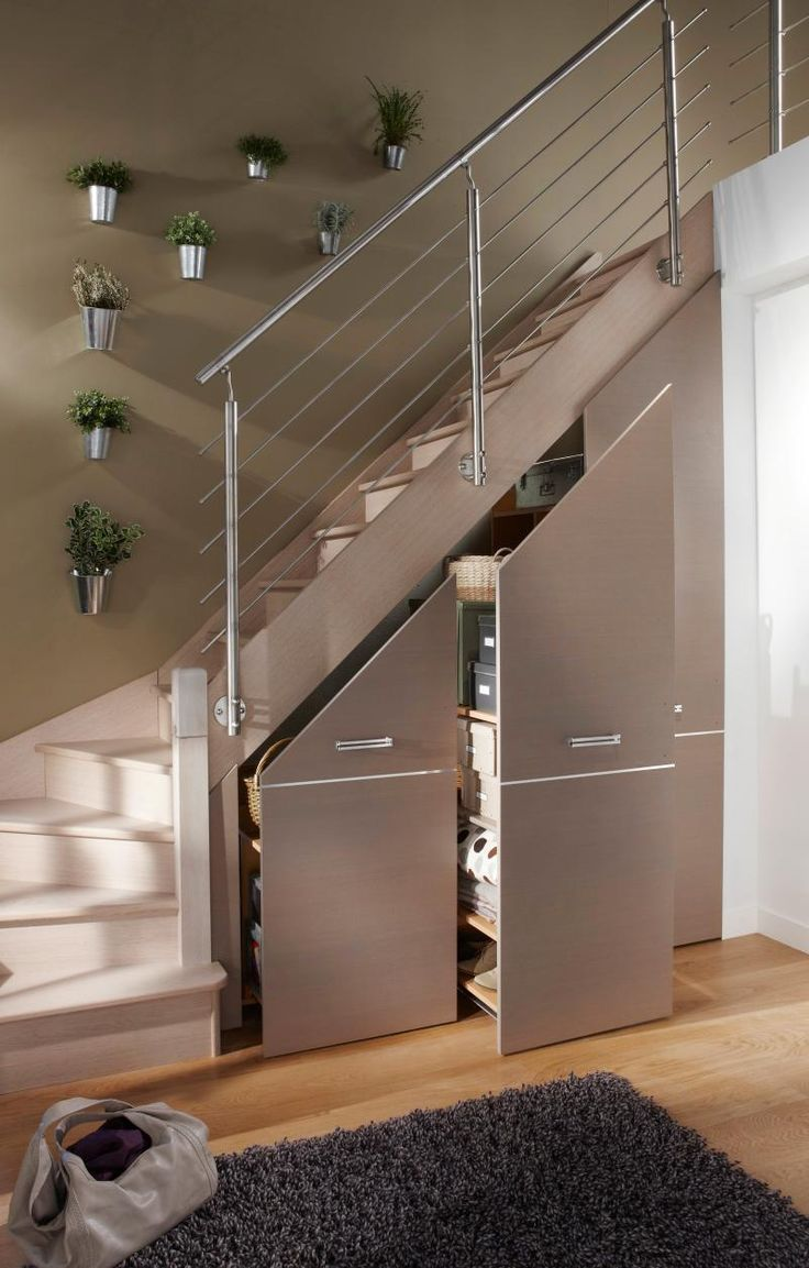 20 Astuces Pour Aménager Un Dessous D'escalier