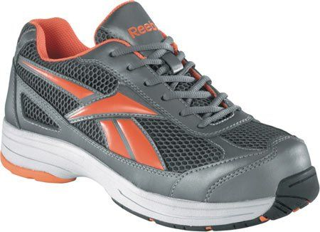 RB1630 Reebok Mens Cross Trainer Safety Shoes  Pewter  115  M *** More info could be found at the image url.