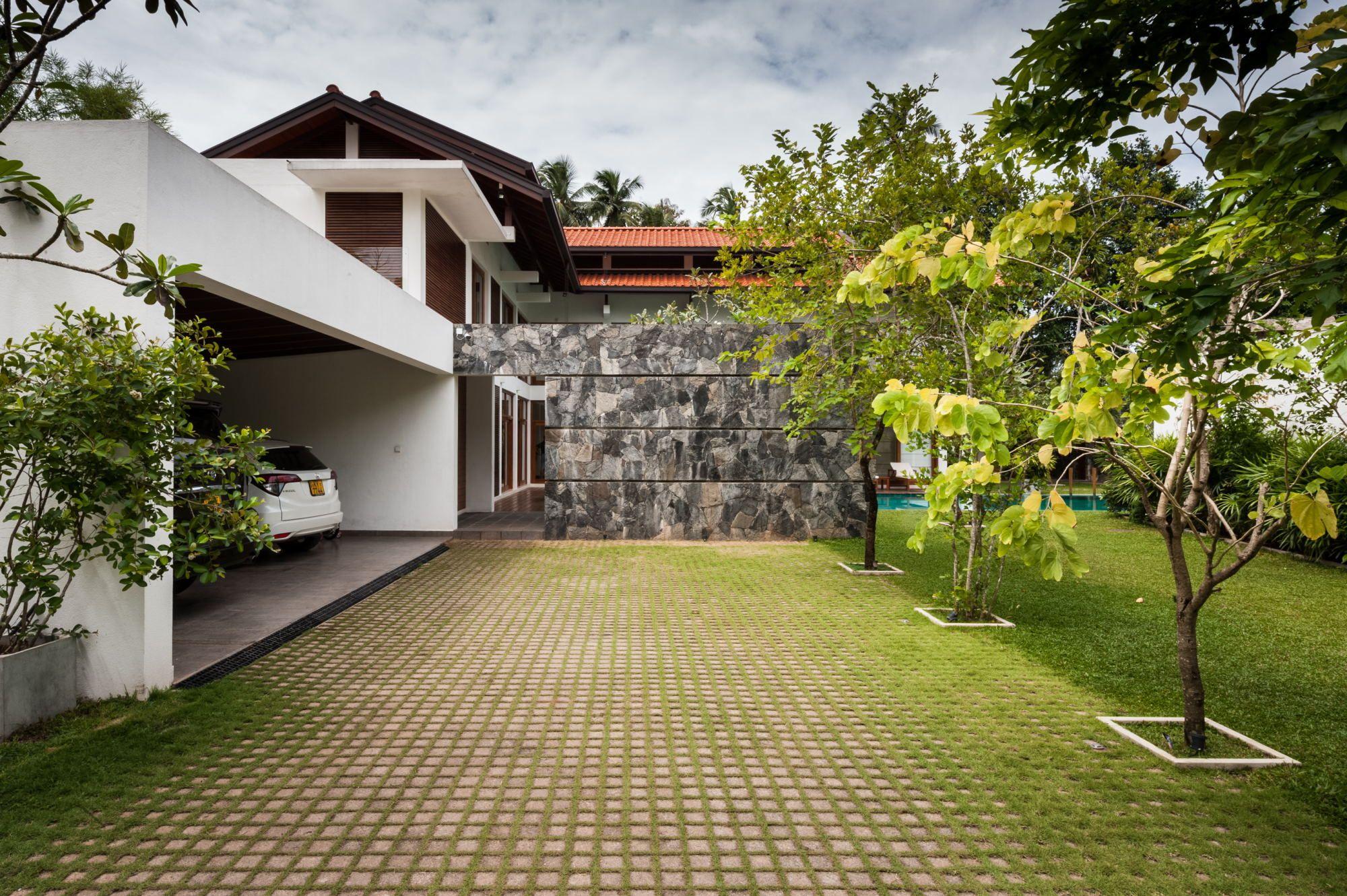 Simple Sri Lankan Home Design Home Garden Design Simple House House Design
