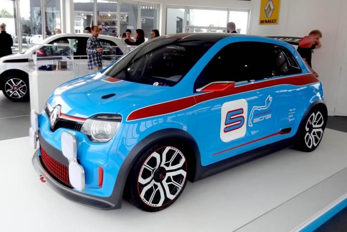 Best Cars At Goodwood Festival Of Speed 2014 ルノー トゥインゴ