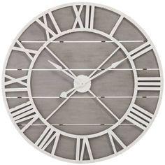 j line wanduhr grau altwei deko pinterest wanduhren grau und wanduhren wohnzimmer. Black Bedroom Furniture Sets. Home Design Ideas