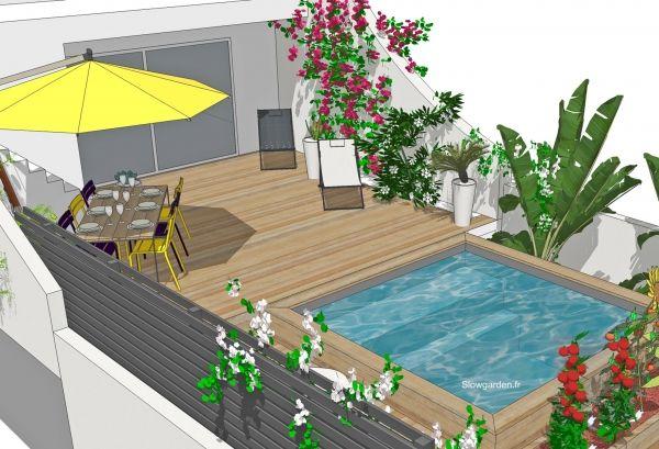°° Mini jardin, mini piscine à Marseille °°