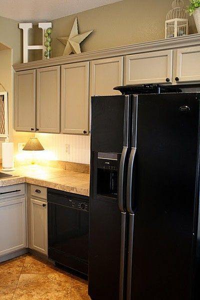 Fresh Kitchen Cabinets Refrigerator Surround