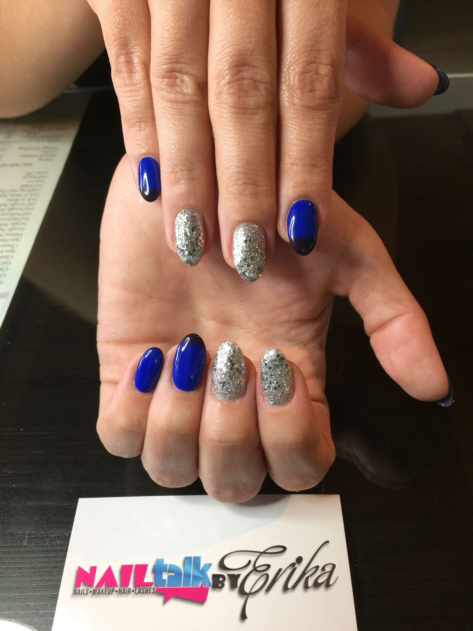 Gel almond shaped nails by Erika in Hollywood FL by appointment only ...