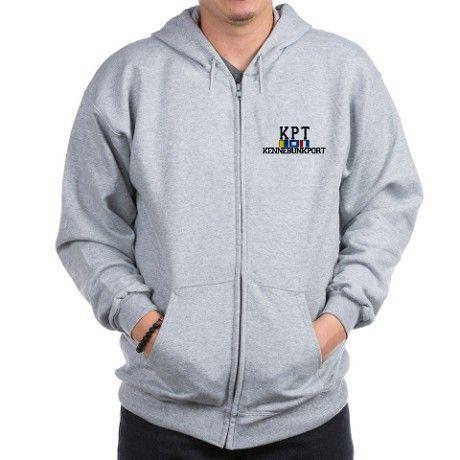 913bf43970f178 Kennebunkport ME - Varsity Design. Zip Hoodie