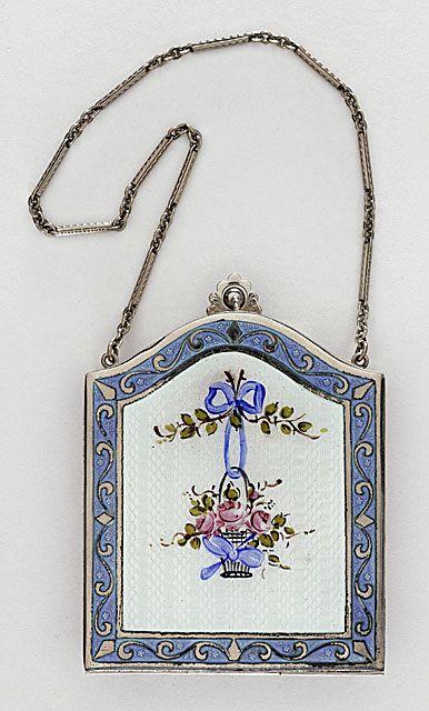 Girl's vanity bag, circa 1925, via The Los Angeles County Museum of Art.