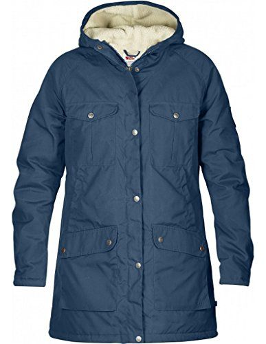 Fjallraven Greenland Winter Parka Womens Uncle Blue Medium Click On The Image For Additional Detail Womens Jackets Casual Winter Parka Womens Parka Winter